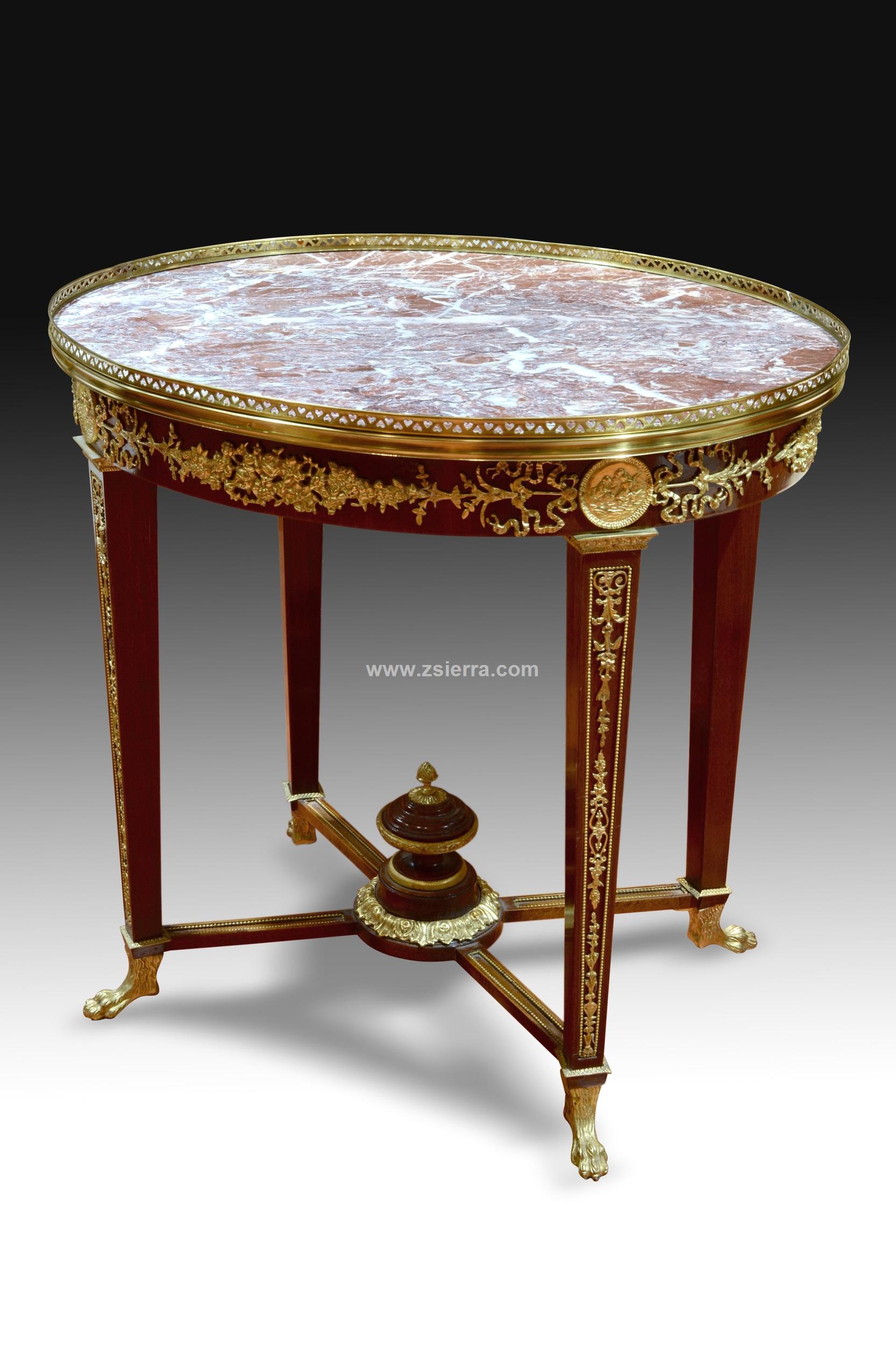 Z sierra antig edades y objetos de decoraci n mesa de - Mobiliario y estilo ...