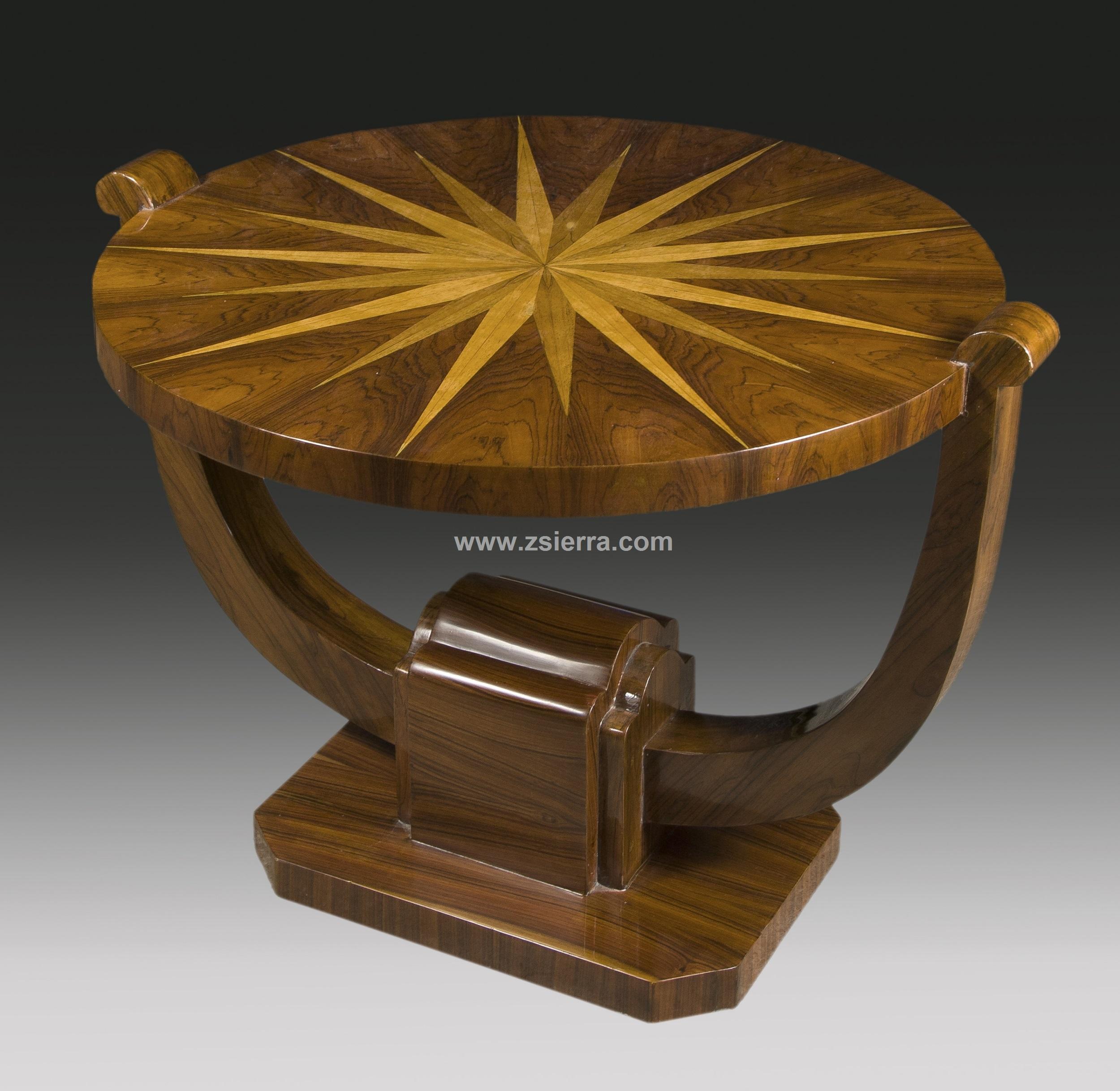 Z sierra antig edades y objetos de decoraci n mesa for Art deco decoracion