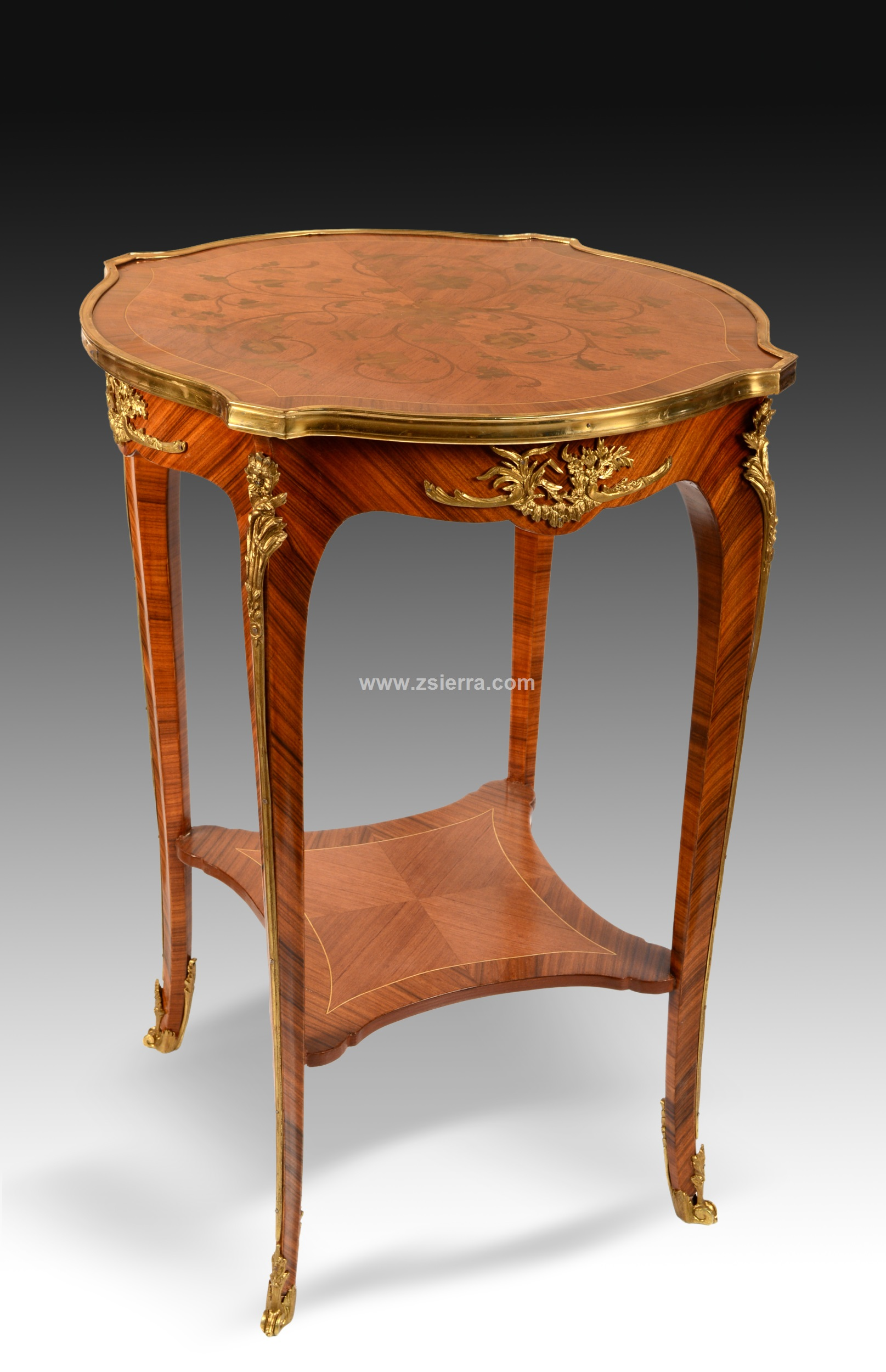 Z Sierra Antiques And Decorative Objects LOUIS XV STYLE SIDE - Old fashioned side table