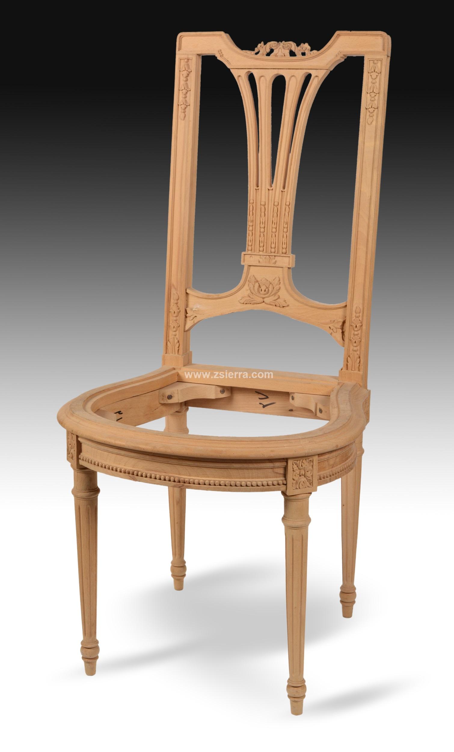 Z sierra antig edades y objetos de decoraci n silla - Silla estilo luis xvi ...