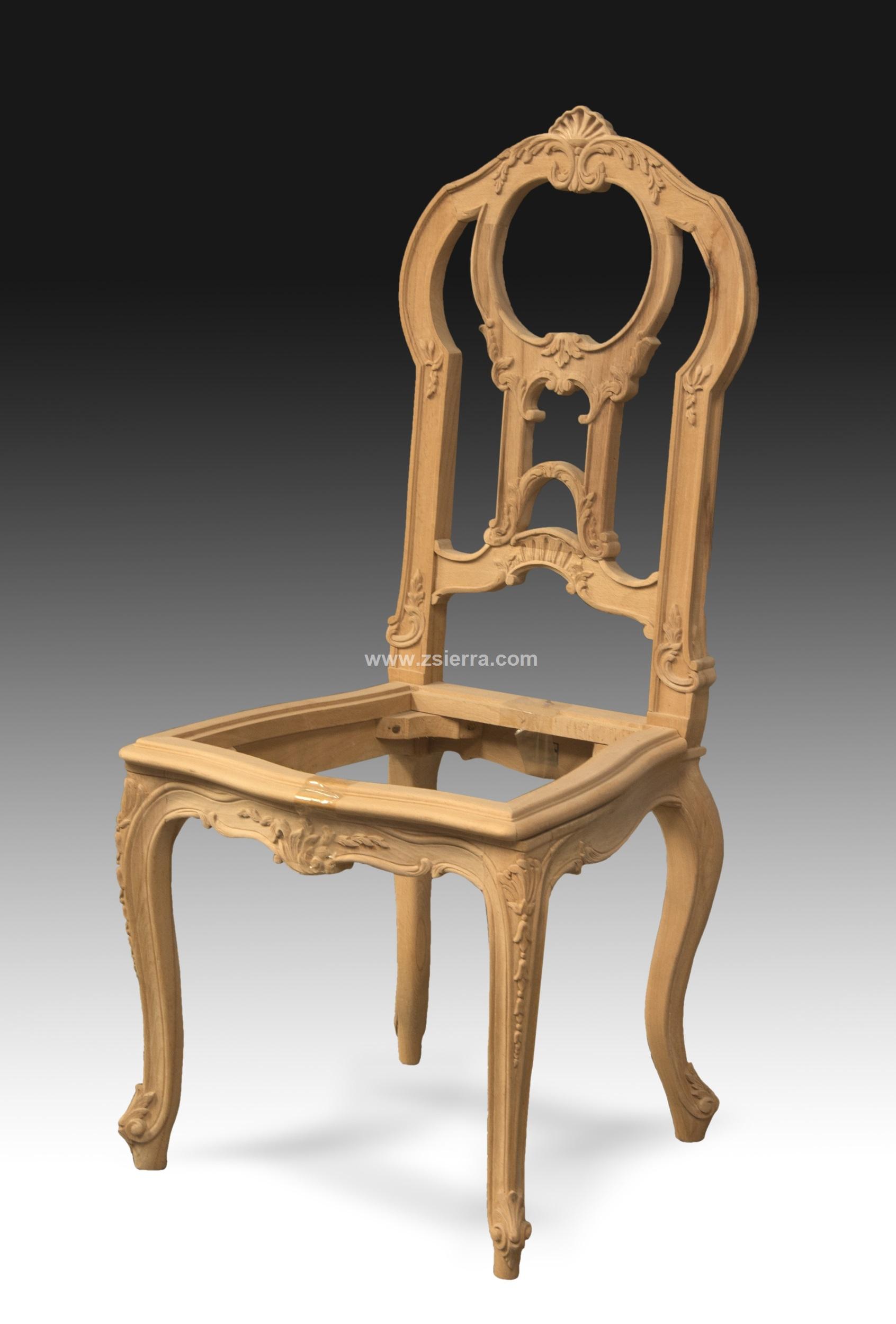 Z sierra antig edades y objetos de decoraci n silla - Silla estilo luis xv ...