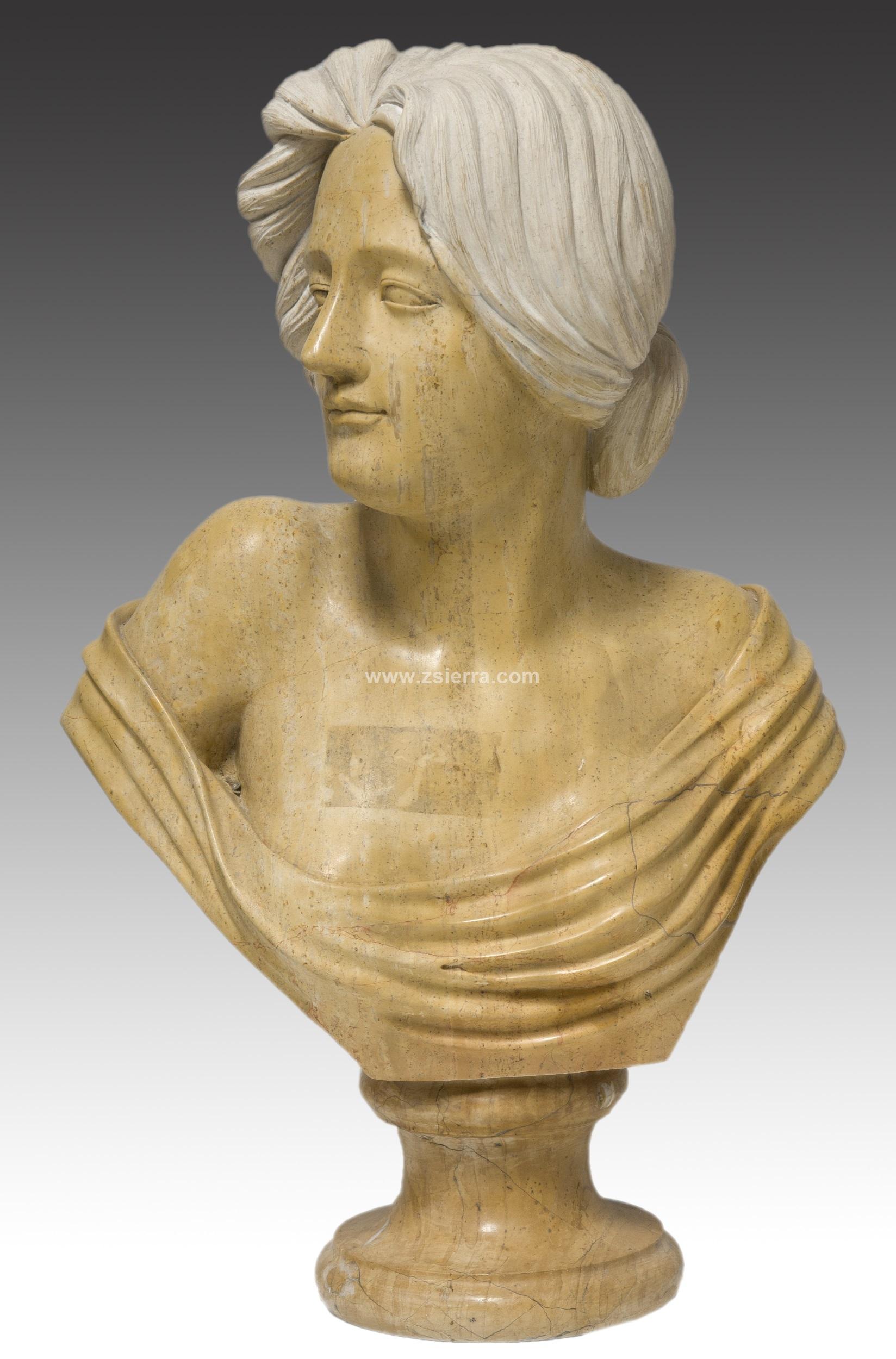 Z sierra antig edades y objetos de decoraci n busto - Esculturas decoracion ...
