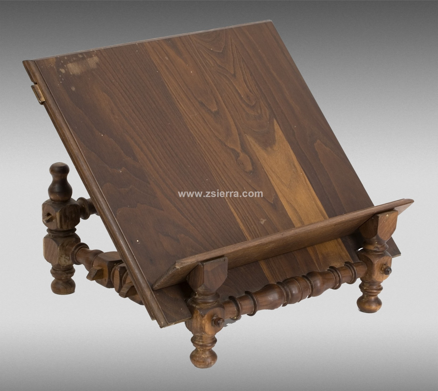 Z sierra antig edades y objetos de decoraci n atril madera torneado 31x40x31 cms - Atril decoracion ...