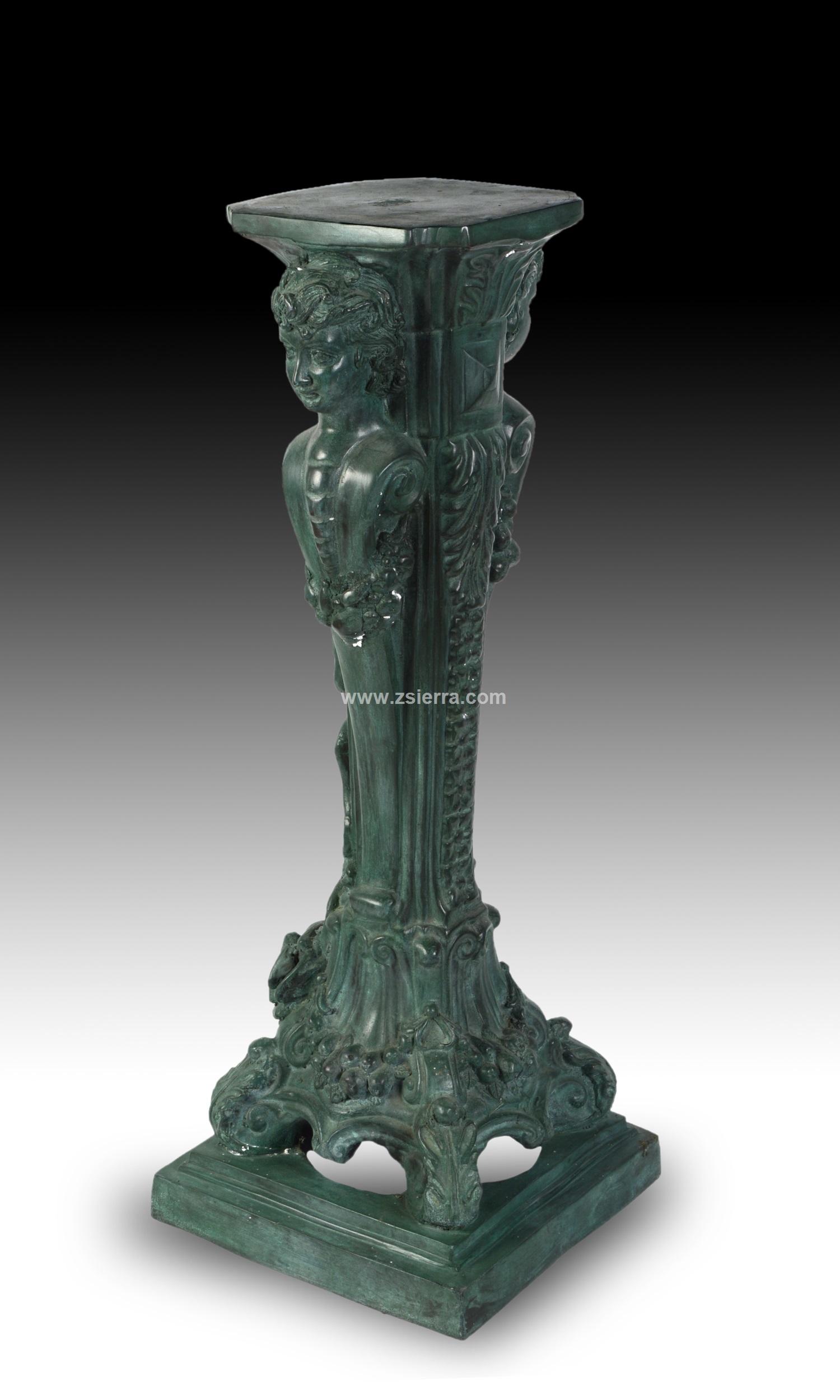 Z sierra antig edades y objetos de decoraci n peana - Esculturas decoracion ...
