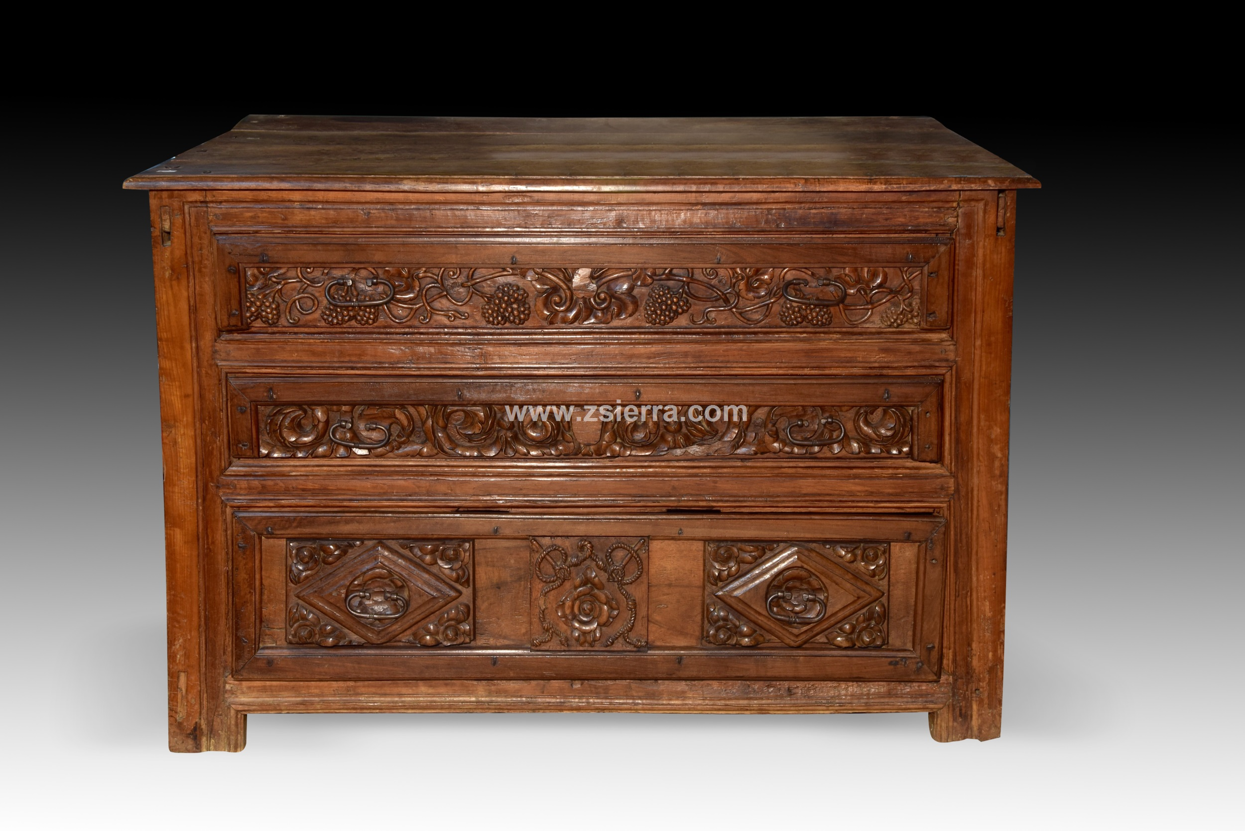 Z Sierra Antiques And Decorative Objects Spanish Chest Of