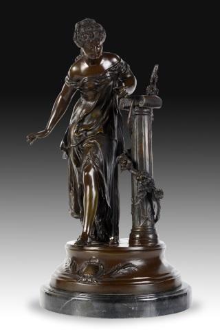 Z sierra antig edades y objetos de decoraci n pareja - Esculturas decoracion ...