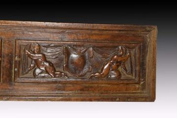 Z sierra antig edades y objetos de decoraci n tres paneles en madera tallada s xvi varios - Paneles decorativos madera tallada ...